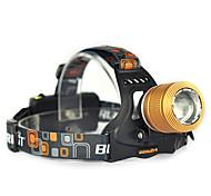 Scheinwerfer (einstellbarer Fokus / Stoßfest) - LED 1 Modus 1200Lumens Lumen 18650 Cree XM-T6 L2 / Cree Q5 Batterie / Autoladegeräte -