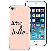 Why Hello Design Aluminum Hard Case for iPhone 5C