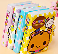 Cute Little Lock Notepads(Random Color)