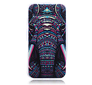 Elephant Pattern TPU Soft Back Cover Case for  Motorola Moto G