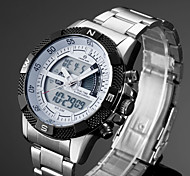 Multiple Digtal Display Date Day Alarm Waterproof LCD Chronograph Mens Sport Wrist Quartz Watch Military Army Style