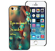 You Can Do it Design Aluminum Hard Case for iPhone 5C