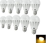 Bombillas LED de Globo Decorativa YouOKLight E26/E27 3W 6 SMD 5630 200 LM Blanco Cálido / Blanco Fresco AC 100-240 V 10 piezas