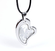 Fashion The Rose Of Love Pendant Necklace(A Couple)