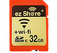 Ez Share 32GB Class 10 SD/SDHC/SDXC / Wireless StorageMax Read Speed30mb/s (MB/S)Max Write Speed10mb/s (MB/S)