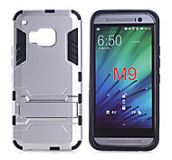 For HTC Case Shockproof / with Stand Case Back Cover Case Armor Hard PC HTC HTC One M9