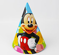Mickey Mouse Paper Hat 12pcs