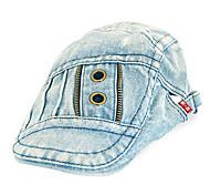 New Jeans Beret Hat Men Summer Patchwork Berets Cap