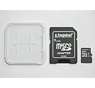 Kingston Digital 8 GB Class 10 Micro SD  And The Memory Card And The Memory Card Adaptor Box