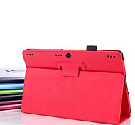 10.1 Inch Two Folding Pattern Lichee Case for lenovo Tab 2 A10(Assorted Colors)