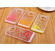 Plastic Material Small and Pure and Fresh Love Style for Samsung Galaxy S6