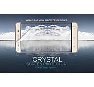 cristal nillkin filme protetor de tela anti-impressão digital clara para Huawei honra 4c