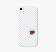 Red Cup Creasing Pattern PC Phone Case Back Cover Case for Apple iPhone5/5s