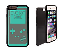 I've Got Game Pattern 2 in 1 Hybrid Armor Full-Body Dual Layer Shock-Protector Slim Case for iPhone 6 Plus