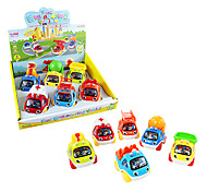 Toy Vehicles Pull Back Cartoon Fire Engine Set Toys