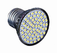 Hot High Quality E27 3528 SMD 60-LED Downlight Light Bulb Warm White 220V For Hotel Office