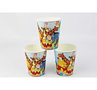 Disney Winnie the Pooh filme copos fontes do partido de papel 50pcs