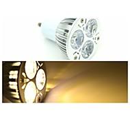 Faretti 3 LED ad alta intesità GU10 3.5 W 240-300 LM Bianco caldo 1 pezzo AC 85-265 V