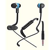 IN09 3.5mm Jack In Ear Earphone Volume Control Music Headphone for iPhone 6 Huawei Samsung NOTE 2 3