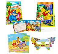 75pcs Winnie the decoração decorações da festa de aniversário crianças evnent fontes do partido do bebê do partido pooh 18 pessoas usam