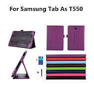 Per Samsung Galaxy Custodia Con supporto / Con chiusura magnetica Custodia Integrale Custodia Tinta unita Similpelle Samsung Tab A 9.7