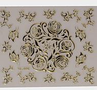 - Finger/Zehe - 3D Nails Nagelaufkleber - PVC - 1 sheet Stück - 8*8 cm