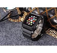 nueva correa de reloj de diseño con función de cubierta de protección para iwatch38mm