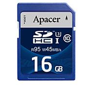 Apacer uhs-i cartão SDHC de 16GB de memória u3 class10 R95 / W45