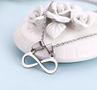 Novel Eight Shape Necklace