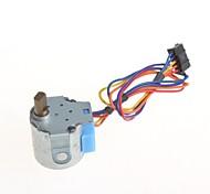 4 fases 5 fios 20 milímetros motor de passo motor de piso com caixa de velocidades