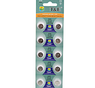 T&E AG6 LR920 371A 171 SR920SW High Capacity Button  Batteries (10PCS)
