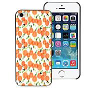 Orange Design Aluminum Hard Case for iPhone 4/4S