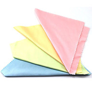 100 PCS Anti-Friction Flexible Cotton Cleaning Cloth(Random Color)
