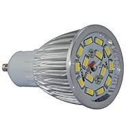 GU10 7W SMD 6000K White Light LED Spot Bulb (AC85-265V)