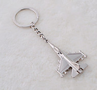 Stainless Steel Combat Aircraft Air Fighter Key Chain Ring Keyring