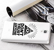 New Fashion Phone Case XIAOMI Mi4 Case  Mi4 Design of Coloured Drawing or Pattern Tpu Material of Back Cover