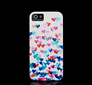 Heart Pattern Cover for iPhone 4 Case / iPhone 4 S Case