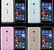 For Nokia Case Ultra-thin / Transparent Case Back Cover Case Solid Color Soft TPU Nokia Nokia Lumia 830 / Nokia Lumia 535