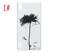 Painted PC Phone Case for Huawei P7