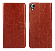 YMX-Solid color Light Surface PU Leather Full Body Wallet Protective Case for HTC Desire 820 (Assorted Colors)