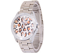 Men's Fashion Leopard Digital Disc Belt China Watch Movement(Assorted Colors)