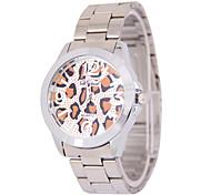 Men's Fashion Leopard Digital Disc Belt China Watch Movement(Assorted Colors)