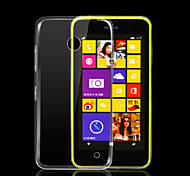 estuche blando de TPU transparente de ultra para Nokia Lumia 630/635/636/638