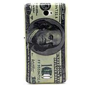padrão dólar TPU macio para sony e4