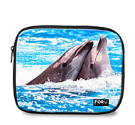 "For U Designs 10"" Parent-Child/Dolphin Laptop Sleeve Case for Ipad"