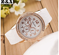 Women's Fashion Silicon Quartz Steel Belt Wrist Watch(Assorted Colors) Cool Watches Unique Watches