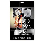 Personalized USB Flash Drive Come To The Dark Side Design 4GB Card USB Flash Drive