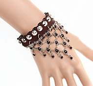 Z&X® Belly Dance Vintage Tassel Leather Bracelets Party/Daily/Casual 1pc