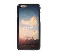 Personalized Gift You + ME Design Aluminum Hard Case for iPhone 6