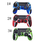 Camouflage Silicone Skin Protective Case Cover for PS4 Wireless Controller